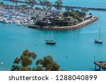 view of beautiful marina from... | Shutterstock . vector #1288040899