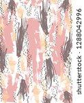 brush stroke pattern | Shutterstock .eps vector #1288042996
