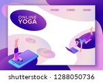 Yoga Isometric Concept Or...