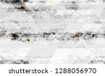 seamless urban geometric grunge ... | Shutterstock .eps vector #1288056970