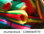 colorful mesh material usually...   Shutterstock . vector #1288060570
