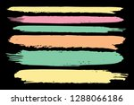 collection of hand drawn... | Shutterstock .eps vector #1288066186