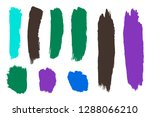 collection of hand drawn... | Shutterstock .eps vector #1288066210