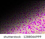 colorful halftone dots. rainbow ... | Shutterstock .eps vector #1288066999