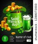 template of banner   saint... | Shutterstock .eps vector #1288072003