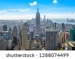 beautiful skyline of midtown... | Shutterstock . vector #1288074499