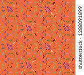 summer lovely multicolored sea... | Shutterstock . vector #1288091899