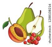 fruit set icon | Shutterstock .eps vector #1288108216