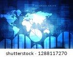 2d rendering stock market... | Shutterstock . vector #1288117270