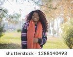 pretty african american  woman...   Shutterstock . vector #1288140493