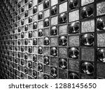 decorative tiles in the hotel. | Shutterstock . vector #1288145650
