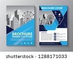business abstract vector... | Shutterstock .eps vector #1288171033