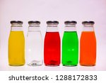 nectar or soft drink in a glass ... | Shutterstock . vector #1288172833