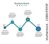 infographic design template | Shutterstock .eps vector #1288195939