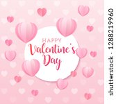 valentine's day vector...   Shutterstock .eps vector #1288219960