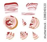 meat products pork  design... | Shutterstock .eps vector #1288240123