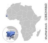 vector illustration of guinea... | Shutterstock .eps vector #1288244860
