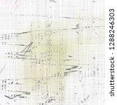 weird abstract texture pattern... | Shutterstock . vector #1288246303