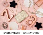 beauty and fashion feminine...   Shutterstock . vector #1288247989