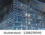 detail on a building facade... | Shutterstock . vector #1288258540
