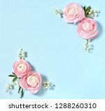 floral background delicate. of... | Shutterstock . vector #1288260310