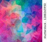 modern vector geometric...   Shutterstock .eps vector #1288265950
