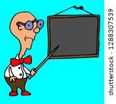 school teacher pupil board...   Shutterstock .eps vector #1288307539