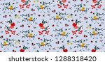 seamless floral pattern in... | Shutterstock .eps vector #1288318420