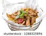 close up shot  fried chicken... | Shutterstock . vector #1288325896