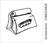 food packet vector sketch | Shutterstock .eps vector #1288332820