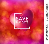 save the date card vector... | Shutterstock .eps vector #1288343086
