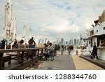 tel aviv  old jaffa  israel  ... | Shutterstock . vector #1288344760