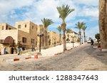tel aviv  old jaffa  israel  ... | Shutterstock . vector #1288347643
