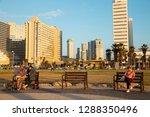 tel aviv  israel   december 23  ... | Shutterstock . vector #1288350496