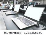 department of laptops in the... | Shutterstock . vector #1288365160