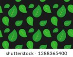 leaf pattern  ready to be... | Shutterstock .eps vector #1288365400
