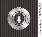 christmas tree icon inside... | Shutterstock .eps vector #1288366336