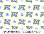 flower pattern  ready to be... | Shutterstock .eps vector #1288367470