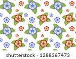 flower pattern  ready to be... | Shutterstock .eps vector #1288367473
