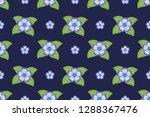 flower pattern  ready to be... | Shutterstock .eps vector #1288367476