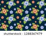 flower pattern  ready to be... | Shutterstock .eps vector #1288367479