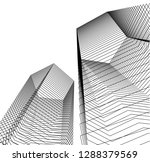 architecture geometric...   Shutterstock .eps vector #1288379569