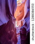 antelope canyon arizona | Shutterstock . vector #1288386553
