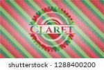claret christmas colors style... | Shutterstock .eps vector #1288400200