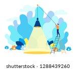modern flat vector illustration....   Shutterstock .eps vector #1288439260