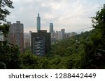 taipei city is the capital and... | Shutterstock . vector #1288442449