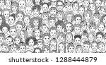 diverse group of children  ... | Shutterstock .eps vector #1288444879