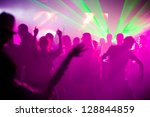 Stock photo disco 128844859