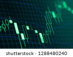 stock market or forex trading... | Shutterstock . vector #1288480240