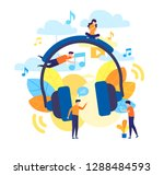 concept of internet online...   Shutterstock .eps vector #1288484593